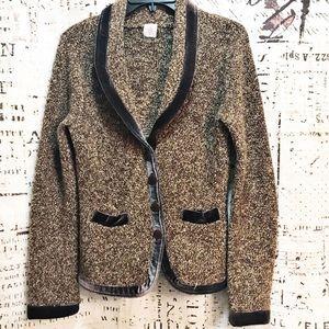 HWR Monogram Anthro Touring Jacket Wool Blend